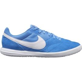 Nogometne cipele Nike Premier Ii Sala Ic M AV3153 414 bijelo, plavo plava