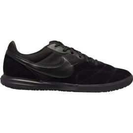 Nogometne cipele Nike Premier Ii Sala M Ic AV3153 011 crna crna