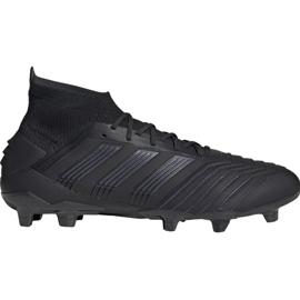 Nogometne čizme adidas Predator 19.1 Fg M crna