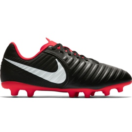 Nogometne cipele Nike Tiempo Legend 7 Club Mg Jr AO2300 006 crna