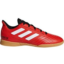 Nogometne cipele Adidas Predator Tango 18.4 Sala Jr DB2343 crvena