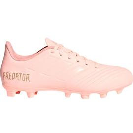 Nogometne cipele Adidas Predator 18.4 M FxG DB2008 roze roze
