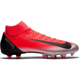 Nike Mercurial Superfly 6 Academy CR7 Mg M AJ3541 600 nogometnih cipela crvena