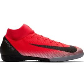 Nike Mercurial Superfly X 6 Academy CR7 Ic M AJ3567 600 nogometnih cipela crna, narančasta crvena