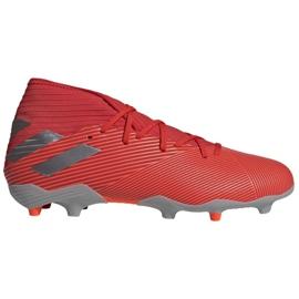 Nogometne cipele Adidas Nemeziz 19,3 Fg M F34389 crvena