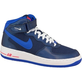 Cipele Nike Air Force 1 Mid Gs W 314195-412 mornarica