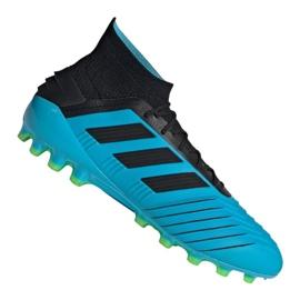 Nogometne cipele Adidas Predator 19.1 Ag M F99970 plava