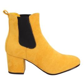 Žuta Jodhpur čizme žuta 2208-132 Žuta žuti