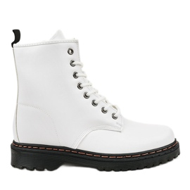 Bijele izolirane čizme DJH01-1 bijela