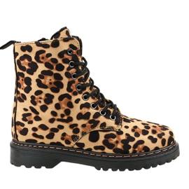 Leopardske čizme s izolacijom DJH01-18
