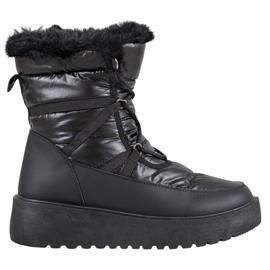 Bella Paris Modne čizme za snijeg crna