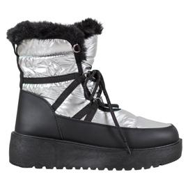 Bella Paris Modne čizme za snijeg siva