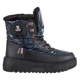 Bella Paris Modne čizme za snijeg plava