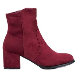 J. Star Bordo čizme crvena
