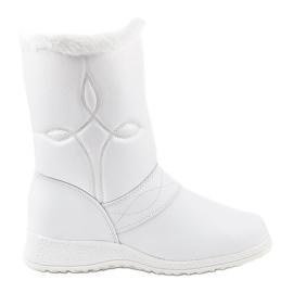 Čizme od bijelog snijega 69 bijela