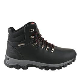 Crne čizme za snijeg izolirane MXC-7587L crna
