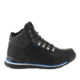 Crne čizme za snijeg izolirane MXC-7585 crna