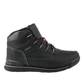 Crne čizme za snijeg izolirane MXC-7589 crna