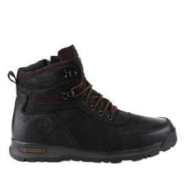 Crne izolirane muške planinarske cipele M70-2A crna