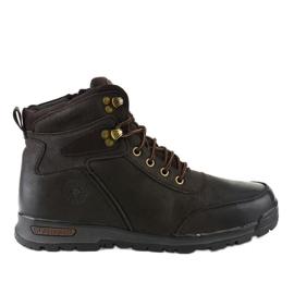 Muške planinarske cipele s izoliranom smeđom bojom M70-2E