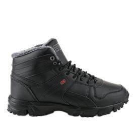 Crne izolirane cipele MC783-1 crna