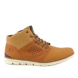 Muške planinarske cipele s izoliranom smeđom bojom X926-14
