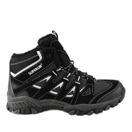 Crne čvrste 6282 planinarske cipele
