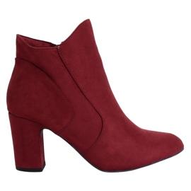 Burgundske visoke potpetice K1809810 Burdeos crvena