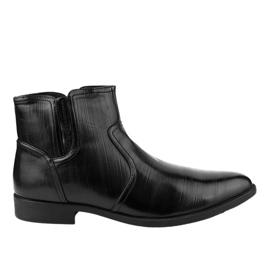 Crne izolirane niske cipele HL1005-2 crna