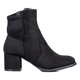 J. Star Crne čizme crna
