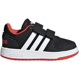Cipele Adidas Hoops 2.0 Cmf I Jr B75965 crna