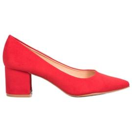 SDS Ležerne crvene pumpe crvena