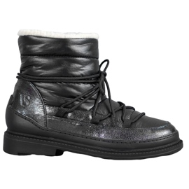 Vices Tekstilne čizme za snijeg crna