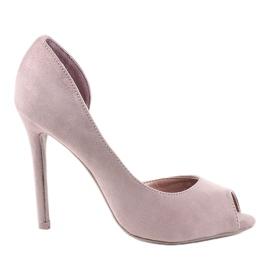 Ružičaste asimetrične antilop cipele M282P roze
