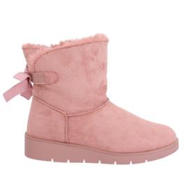Ženske čizme za snijeg ružičaste A-3 Pink roze