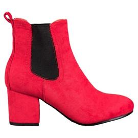 Bestelle Čizme za gležnjeve crvena