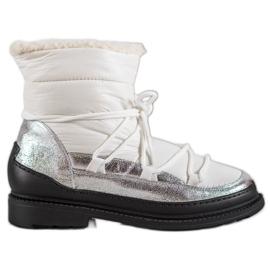 Tekstilne čizme za snijeg VICES bijela