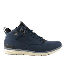 Tamno plave izolirane muške planinarske cipele X925-2 mornarica