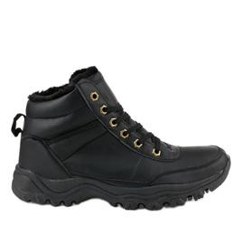 Crne izolirane cipele GT-9578-1 crna