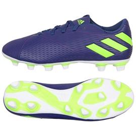 Cipele Adidas Nemeziz Messi 19.4 Fg M EF1807 purpurna boja ljubičasta
