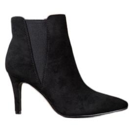 Marquiz Čizme na stilettu crna