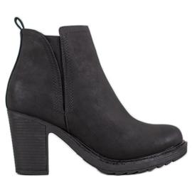 Goodin Tekstilne čizme za gležnjeve crna