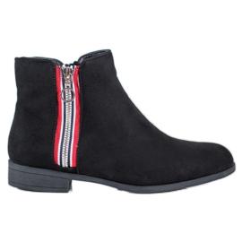 SHELOVET Tople čizme za gležnjeve crna