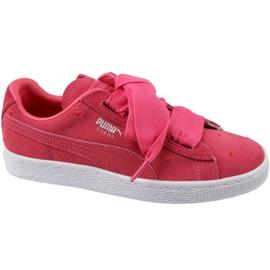 Puma Suede Heart Jr 365135-01 cipele crvena