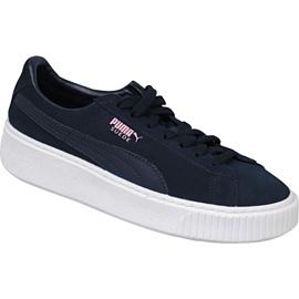 Puma Suede Platform Jr 363663-03 cipele mornarica