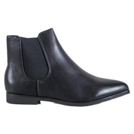 Marquiz Čizme od crnog gležnja crna