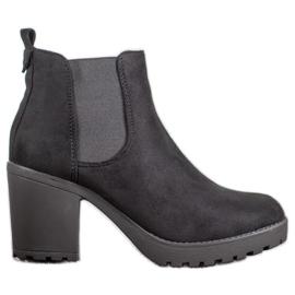 SHELOVET Udobne pumpe za potpetice crna