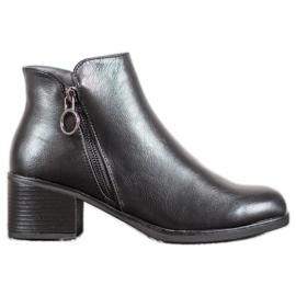 J. Star Tople čizme s eko kožom crna