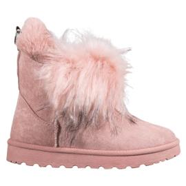 Bella Paris Čizme za snijeg s krznom roze
