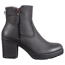 J. Star Ležerne čizme crna